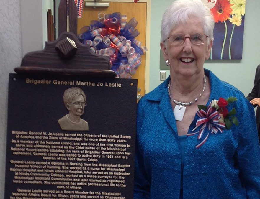 Veterans Spotlight: General Martha Jo Leslie